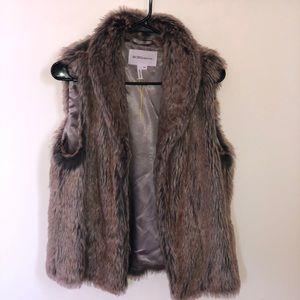 BCBG Tops - Fur Vest BCBG